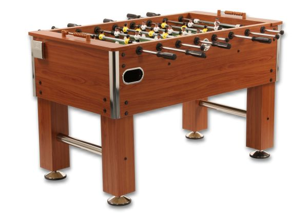 Tischkicker Profi Soccer Deluxe - Holzdekor