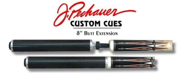PECHAUER Cue Extension - Queue Verlängerung, passend für alle Modelle von Pechauer, 22 oder 11 cm l