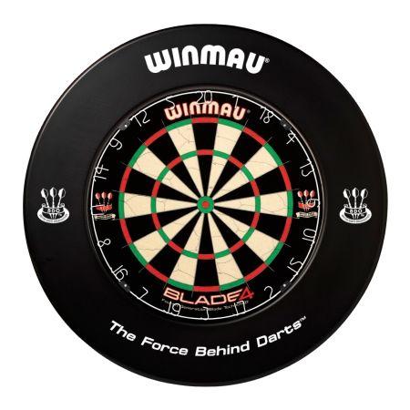 Winmau Dart-Catchring (Dart-Auffangring),schwarz, 4400