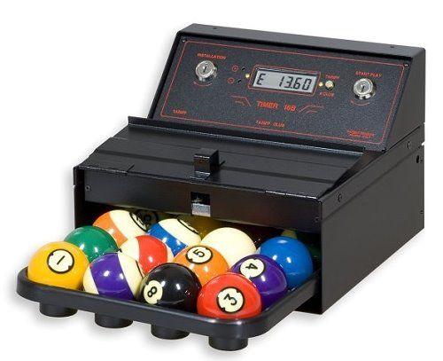 TIMER 16 B Zeitabrechnungssystem für einen Poolbillardtisch